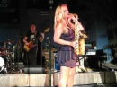 Candy Dulfer plays New York (Empire state of mind), Mambo Beach, Curacao 2010