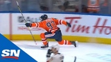 Connor McDavid Puts Home Tying Goal With 8 Seconds Left Against Panthers