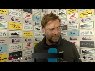 """""""in a lot of countries it would have been disallowed"""" jurgen klopp post-match reaction"""