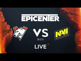 Virtus.pro vs Navi, Epicenter Major Qualifier Playoffs