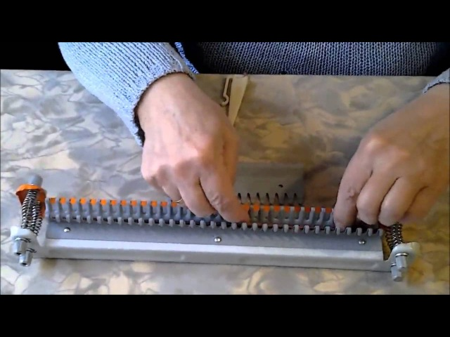 Вязание на машине Ивушка. Уроки 1-16