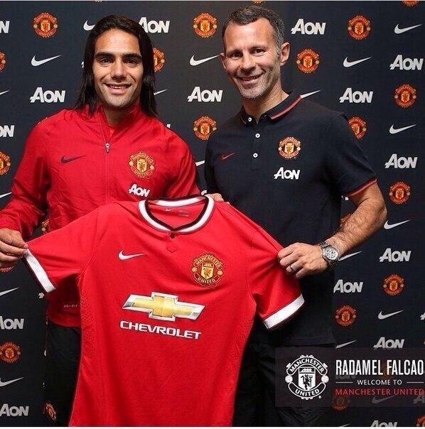 «Манчестер Юнайтед» подтвердил аренду Фалькао