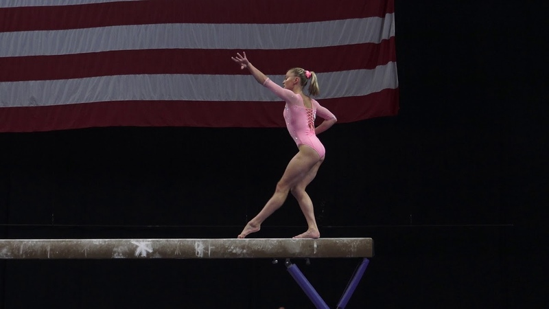 Riley McCusker - Balance Beam – 2018 U.S. Gymnastics Championships – Senior Women Day 2