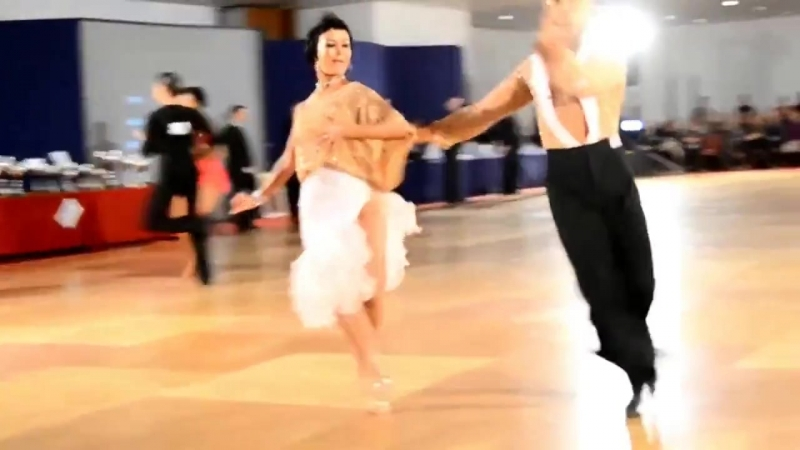 Бальные танцы латина самба
