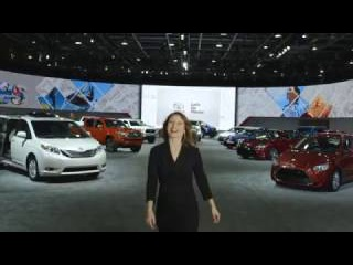 Toyota booth report -2017 North American International Auto Show-