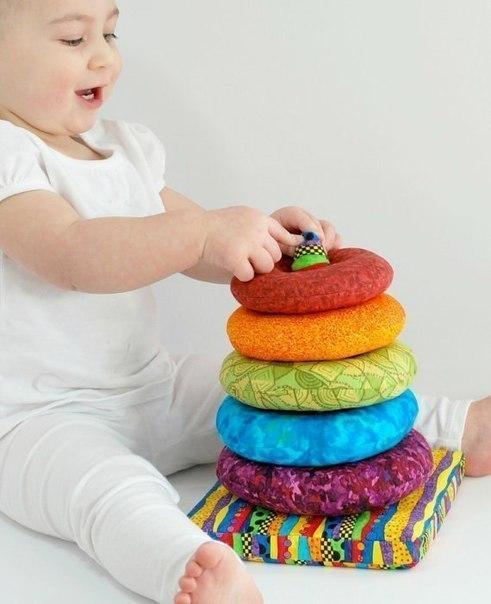 Идея развивающей игрушки для малыша (9 фото) - картинка