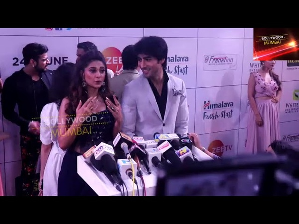 Jennifer Winget and Harshad Chopra Full Interview At Zee Gold Awards Red Carpet 2018