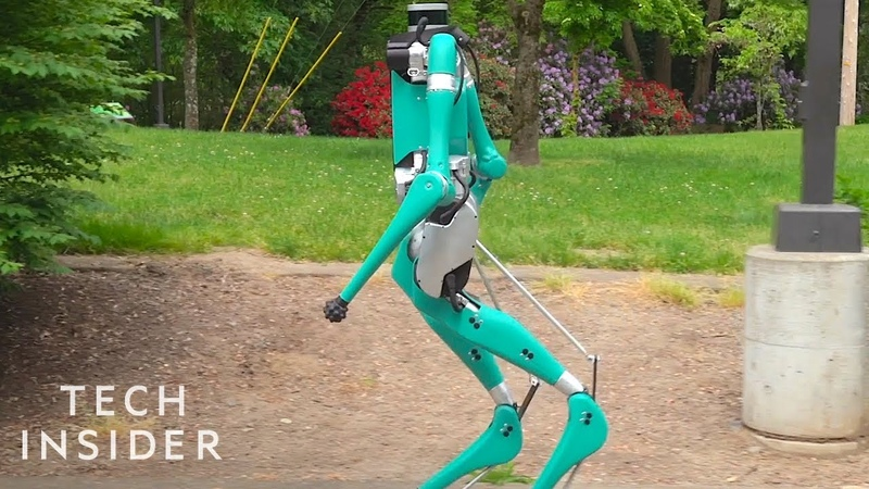 Watch Ford's Delivery Robot That Walks On Two Legs Like A Human