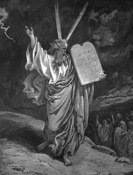 Считается, что Моисей говорил непосредственно с Богом.