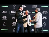 UFC Fight Night 59: Miocic vs. Hunt Staredowns
