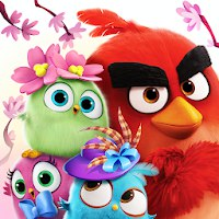Angry Birds Match [Мод: много денег]
