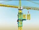 Анимация монтажа башенного крана KCT-7016-C