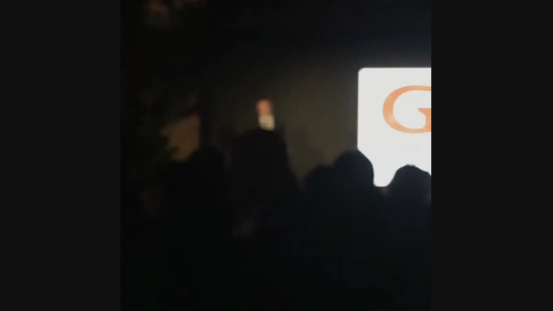 Rob's Speech at GO Campaign Gala - 20/10