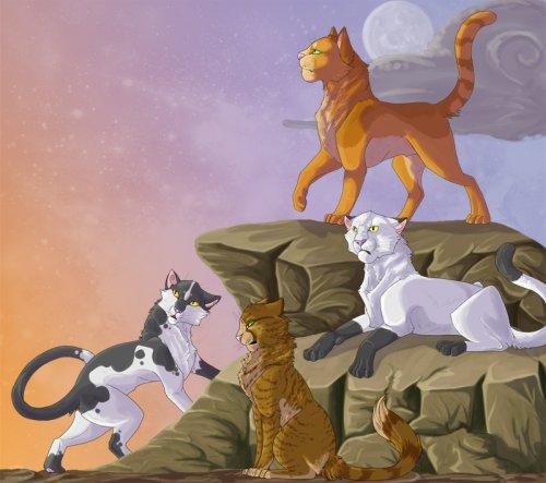 Коты воители жизнь леса updated the community