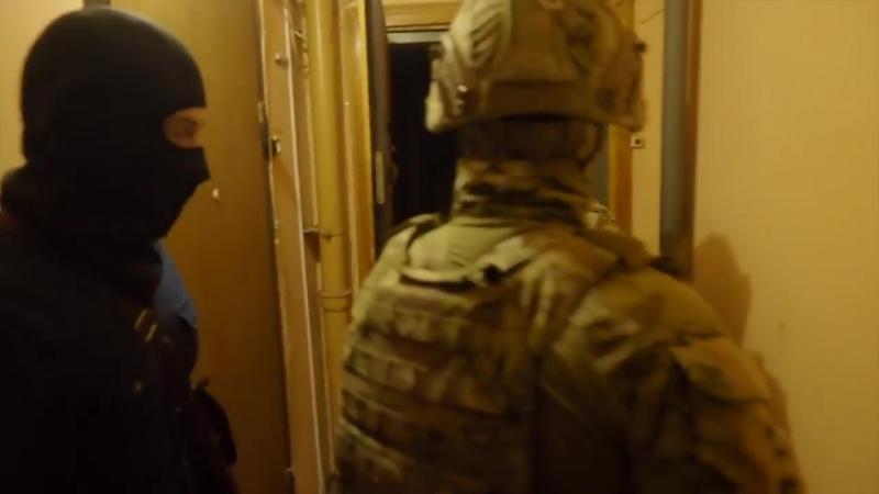 СПЕЦНАЗ ФСБ РАБОТАЕТ облава на вербовщиков ИГИЛ оперативная съёмка