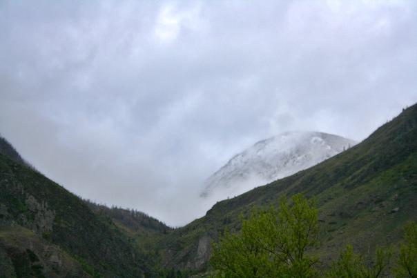 Обычно такие кадры привозят из какой-нибудь Норвегии. А у меня вот Алтай.