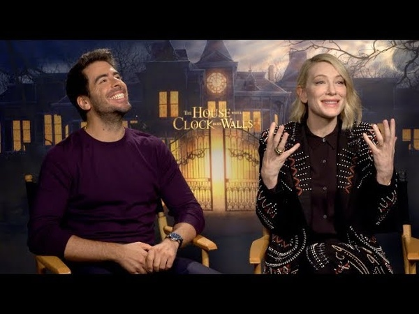 THE HOUSE WITH A CLOCK IN ITS WALLS interviews - Blanchett, Roth, Black, MacLachlan