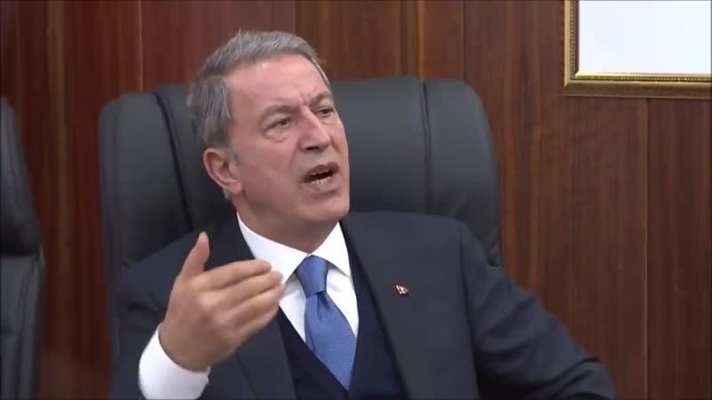 Millî Savunma Bakanı Hulusi Akarın, Duhoktaki Üs bölgesine yönelik provokasyon ile ilgili konuşması.