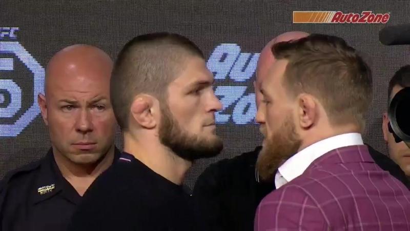 UFC 229 Лицо к лицу Конор МакГрегор - Хабиб Нурмагомедов [Нетипичная Махачкала]