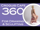 Croquis Cafe 360: Drawing & Sculpture Resource, Simone #3