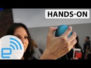 Сканер сетчатки для защиты компьютера - Eye Lock Myris hands-on at CES 2014