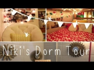 NIKI'S DORM TOUR: ideas, decor + tips