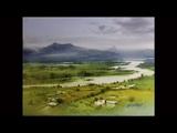 nature watercolour landscape painting rainy days ganesh hire Watercolour Painting Tutorial