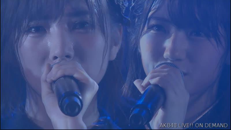 AKB48 Team 4 2nd Stage Te wo Tsunaginagara (День рождения Окады Наны 2018.11.08) [часть 2]