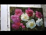 2 Пионы в саду. Мастер-класс Вугара Мамедова