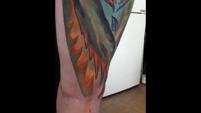 Татуировка в Черкассах студия Дырокол