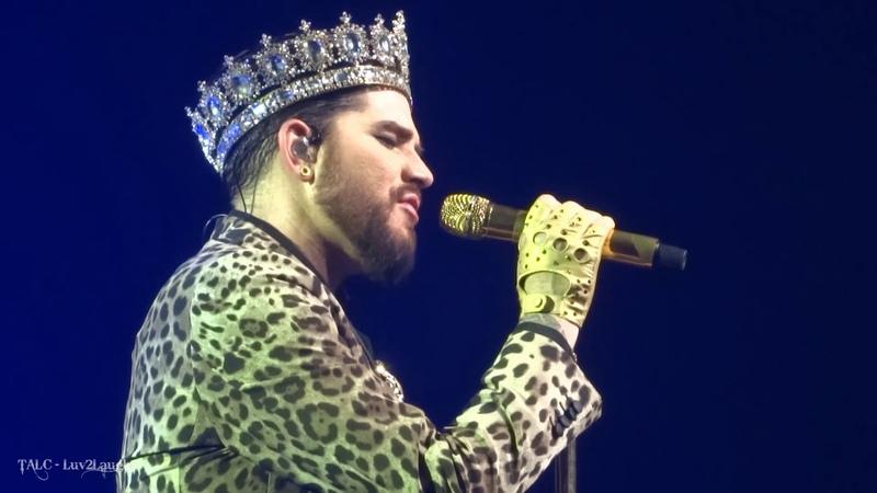 Q ueen Adam Lambert - WeWillRockYou WeAreTheChampions - P ark Theater - Las Vegas - 9.21.18