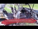 Из за шалости детей в Череповце дотла сгорел автомобиль