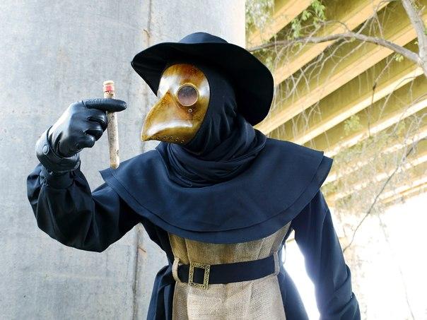 Чумной доктор костюм своими руками