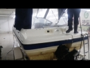 Мойка моторной лодки