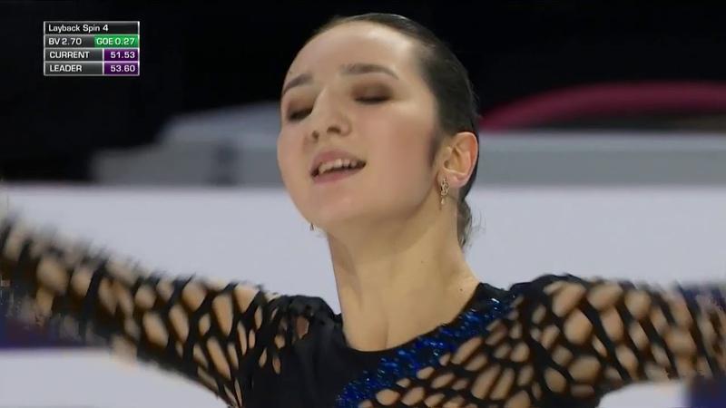 Polina TSURSKAYA FS - 2018 Skate America