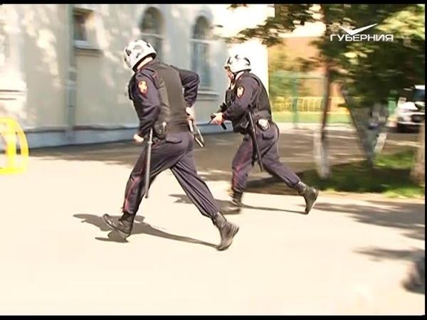 Занятия по антитеррору провели в Самаре сотрудники вневедомственной охраны
