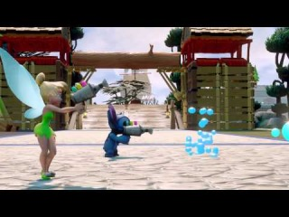 Disney Infinity 2.0 - Трейлер посвященный Стичу и Феи Динь: