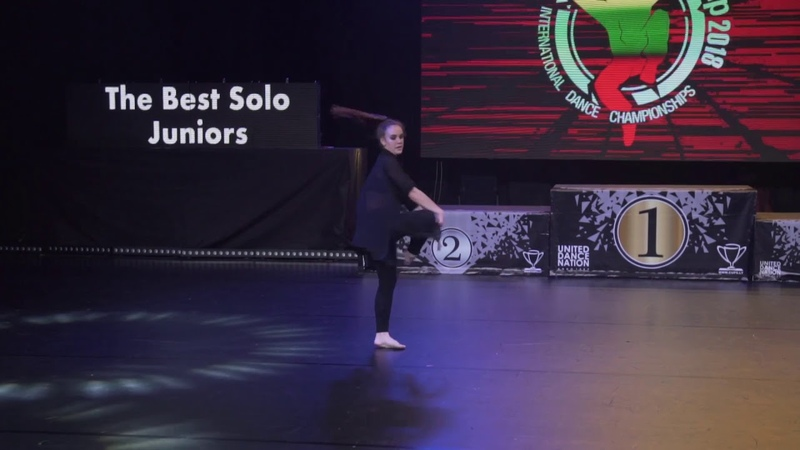 Alina Gasymova | The Best Solo Juniors | Lithuanian Cup 2018