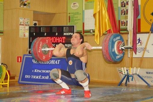 Чемпионат города Красноярска по тяжелой атлетике 2012