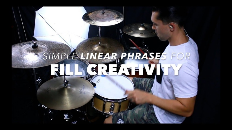 Useful Linear Phrase for Fill Creativity- Drum Lesson with Eric Fisher