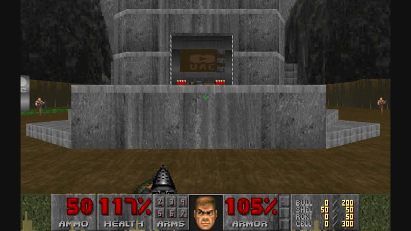 Brutal doom. maps of chaos. realism mode