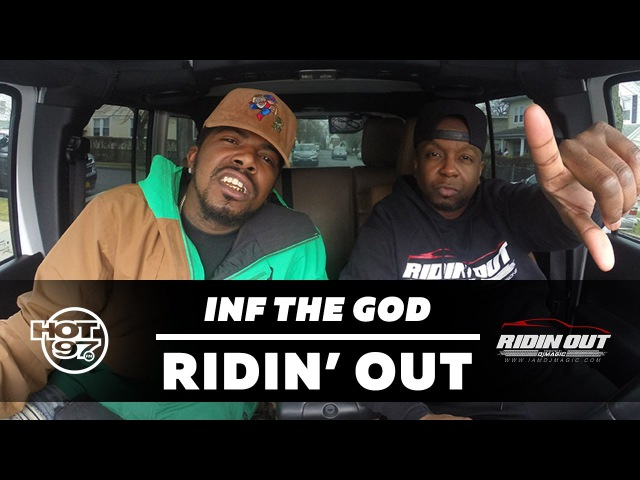 RIDIN OUT Freestyles w/ DJ Magic | Ep12 Inf The God
