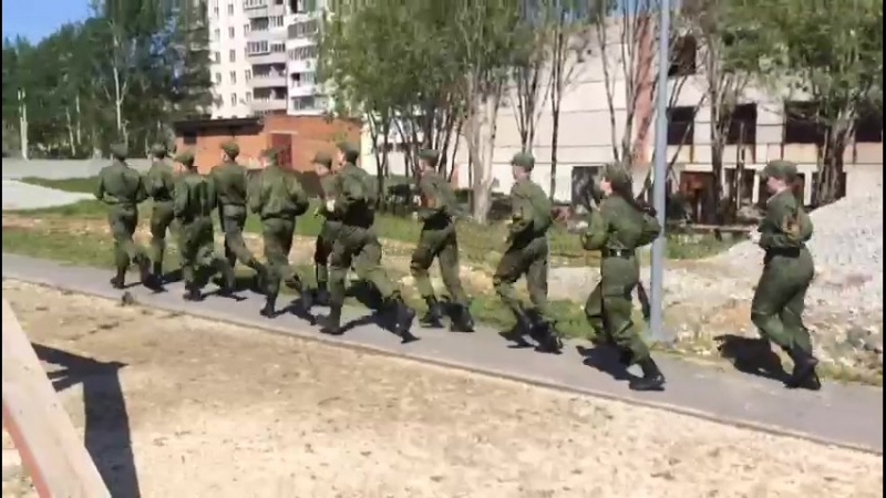 Продолжаются военно-полевые сборы в Екатеринбургском кадетском корпусе войск национальной гвардии