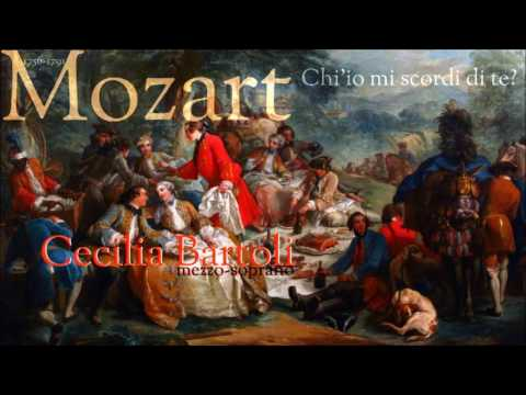 Mozart - Ch' io mi scordi di te? - Cecilia Bartoli - András Schiff (Bösendorfer Piano)