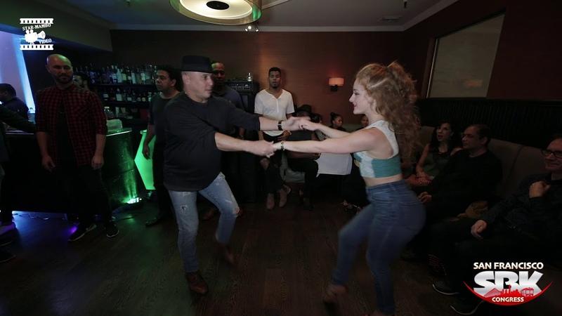 Osmar Perrones Natasha - social dancing @ San Francisco SBK Congress 2018