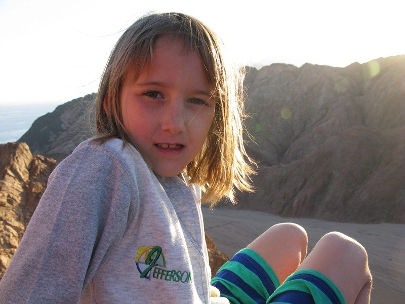 Обычный день обычной девочки Саньки, которой почти семь лет