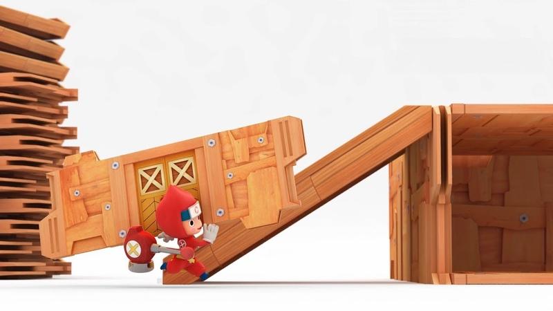 Nintendo Switch「ニンジャボックス」特報映像『はじめましてトンカチです』