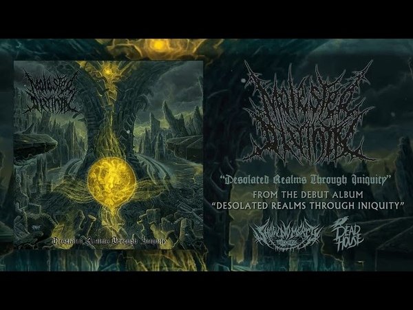 MOLESTED DIVINITY - DESOLATED REALMS THROUGH INIQUITY OFFICIAL ALBUM STREAM 2018 SW EXCLUSIVE