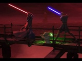 Звездные Войны - Йода и Скайуокер против Дуку и Сидиуса