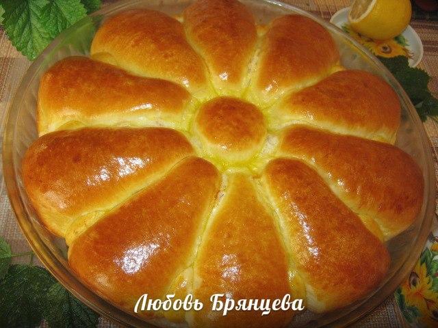Пирог из дрожжевого теста с курицей и картошкой рецепт
